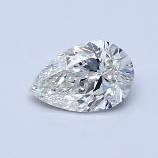 0.70-Carat Pear Diamond Very Good I VS1