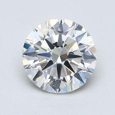 1.01-Carat Round Diamond Ideal I VS2