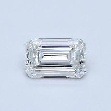 0.60-Carat Emerald Diamond Very Good H VS2