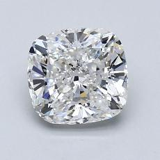 1.31-Carat Cushion Diamond Very Good F SI1