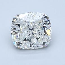 1.50-Carat Cushion Diamond Very Good H VS1