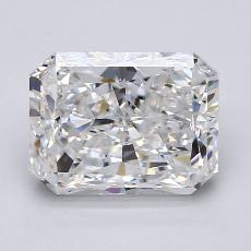 Recommended Stone #2: 2.40-Carat Radiant Cut Diamond