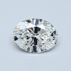 Recommended Stone #1: 0.76-Carat Oval Cut Diamond