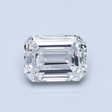 推薦鑽石 #2: 0.74  克拉綠寶石形切割鑽石