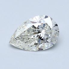 推薦鑽石 #1: 0.80 克拉梨形鑽石