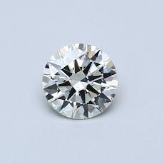 Pierre recommandée n°3: Diamant taille ronde 0,42 carat