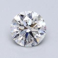 1.10-Carat Round Diamond Ideal I VS2