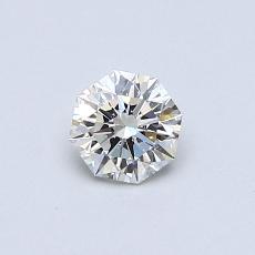 推荐宝石 1:0.41 克拉雷地恩明亮式钻石