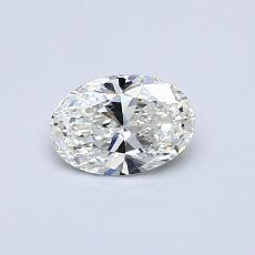 Recommended Stone #3: 0.42-Carat Oval Cut Diamond