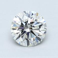 0.90-Carat Round Diamond Very Good H VVS2