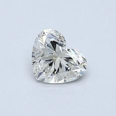 Recommended Stone #3: 0,44-Carat Heart Cut Diamond
