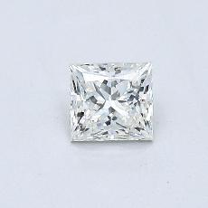 Recommended Stone #3: 0.37-Carat Princess Cut Diamond