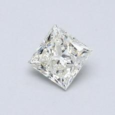 Recommended Stone #1: 0.47-Carat Princess Cut Diamond