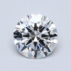 0.90 Carat Redondo Diamond Ideal D VS1