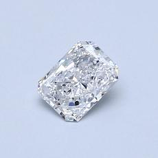 Recommended Stone #1: 0.40-Carat Radiant Cut Diamond