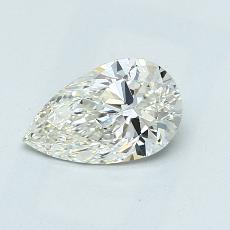 推薦鑽石 #4: 0.90 克拉梨形鑽石