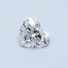 Recommended Stone #4: 0.43-Carat Heart Cut Diamond