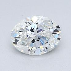 1.02-Carat Oval Diamond Very Good E VS2