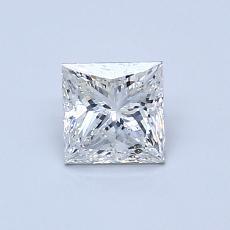 Recommended Stone #3: 0.69-Carat Princess Cut Diamond