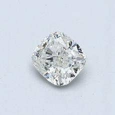 推荐宝石 4:0.43 克拉垫形钻石