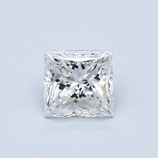 Recommended Stone #3: 0.61-Carat Princess Cut Diamond