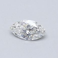 Pierre recommandée n°2: Diamant taille princesse 0,31 carat