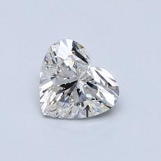 Recommended Stone #4: 0.52-Carat Heart Cut Diamond