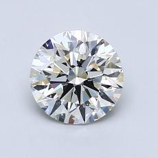 1,01-Carat Round Diamond Ideal J VS1