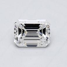 Recommended Stone #2: 0,54-Carat Emerald Cut Diamond