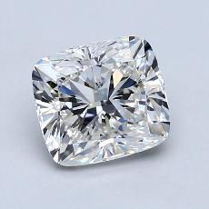 1.50-Carat Cushion Diamond Very Good G VVS2