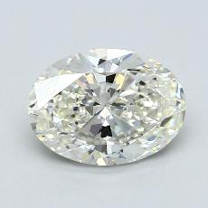 2.51-Carat Oval Diamond Very Good J VS2