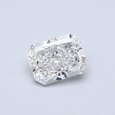 Recommended Stone #2: 0.50-Carat Radiant Cut Diamond