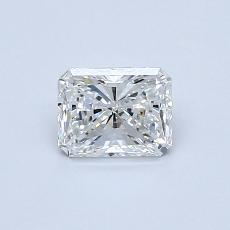 Recommended Stone #4: 0.57-Carat Radiant Cut Diamond