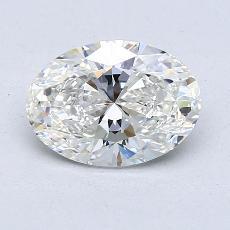 1.50-Carat Oval Diamond Very Good G VS1