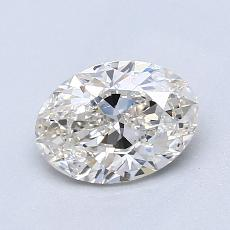 Recommended Stone #4: 1.00-Carat Oval Cut Diamond