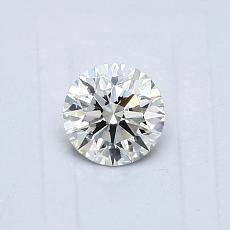 Pierre recommandée n°1: Diamant rond 0,43 carat