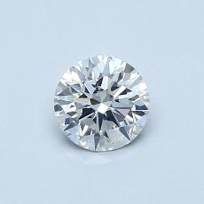 0.52-Carat Round Diamond Ideal E SI2