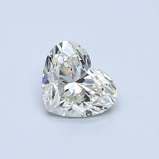 Recommended Stone #3: 0.51-Carat Heart Cut Diamond