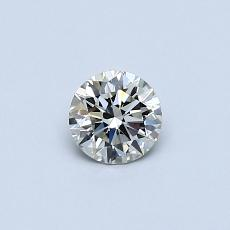 Recommended Stone #2: 0,33-Carat Round Cut Diamond