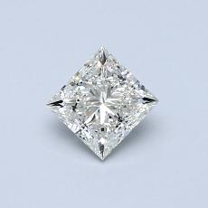 Recommended Stone #1: 0.50-Carat Princess Cut Diamond