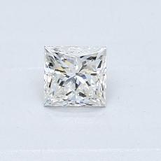 0.35-Carat Princess Diamond Very Good H VS2