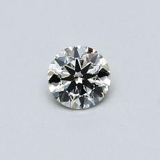 Recommended Stone #3: 0,30-Carat Round Cut Diamond