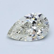 推薦鑽石 #1: 1.00 克拉梨形鑽石