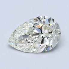 推薦鑽石 #3: 1.00 克拉梨形鑽石