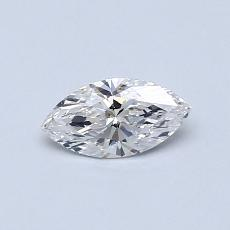 0.33-Carat Marquise Diamond Very Good F VS1