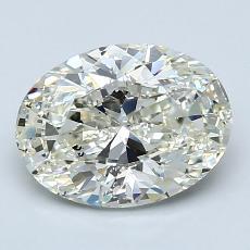 2.01-Carat Oval Diamond Very Good K SI2