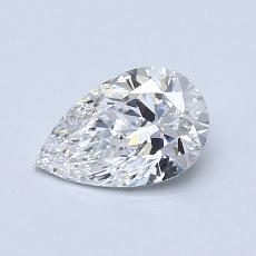 Recommended Stone #3: 0.71-Carat Pear Cut Diamond