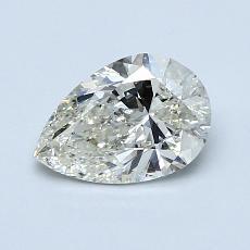 推薦鑽石 #4: 1.00 克拉梨形鑽石