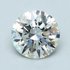 1.30 Carat 圆形 Diamond 理想 I VVS2