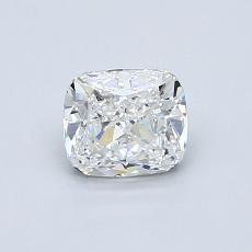 0.70-Carat Cushion Diamond Very Good E VVS2